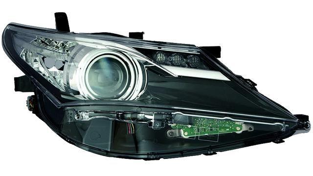 Faro Delantero Derecho Toyota Auris año 2013 a 2015 LED