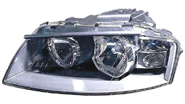 Faro Delantero Izquierdo Audi A3 3p año 2003 a 2008