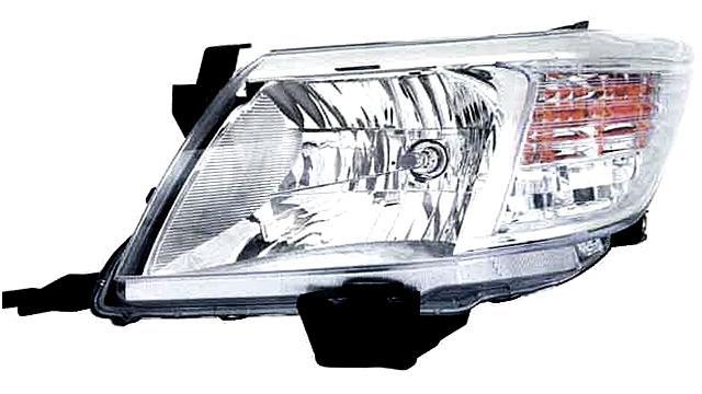 Faro Delantero Izquierdo Toyota Hilux año 2011 a 2015