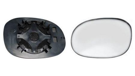 Espejo Cristal + Base Derecho Citroën C3