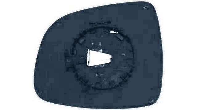 Espejo Cristal + Base Derecho Fiat Sedici año 2006 a 2012 | 31886012