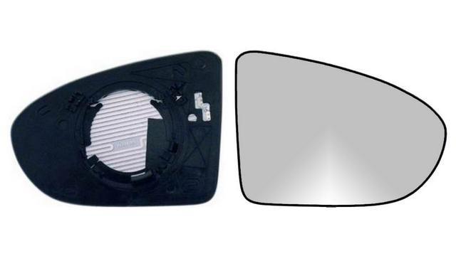 Espejo Cristal + Base Derecho Nissan Qashqai año 2006 a 2014|**022