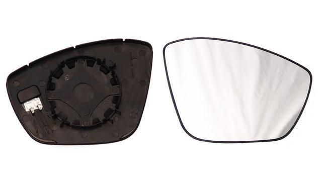 Espejo Cristal + Base Derecho Peugeot 208 año 2012 a 2019|***02