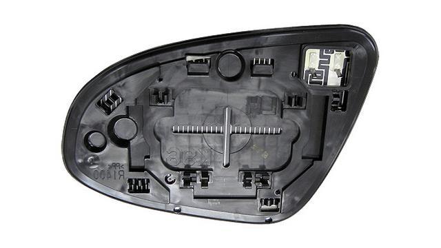 Espejo Cristal + Base Derecho Toyota Prius año 2012 a 2019|***02