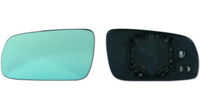 Espejo Cristal + Base Izquierdo Audi A6 año 1994 a 1997 | 31122021