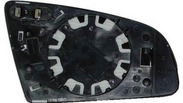 Espejo Cristal + Base Izquierdo Audi A6 año 2004 a 2008 | 31122241