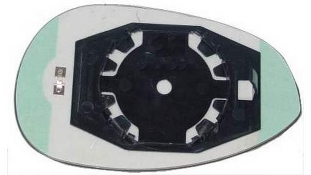 Espejo Cristal + Base Izquierdo Fiat 500 año 2007 a 2011|***11
