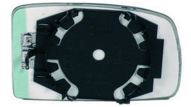Espejo Cristal + Base Izquierdo Fiat Panda año 2003 a 2009 | 31084807