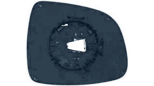 Espejo Cristal + Base Izquierdo Fiat Sedici año 2006 a 2012 | 31886021