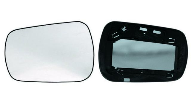 Espejo Cristal + Base Izquierdo Ford Fiesta año 2002 a 2005 ***77