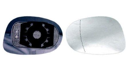 Espejo Cristal + Base Izquierdo Lancia Ypsilon