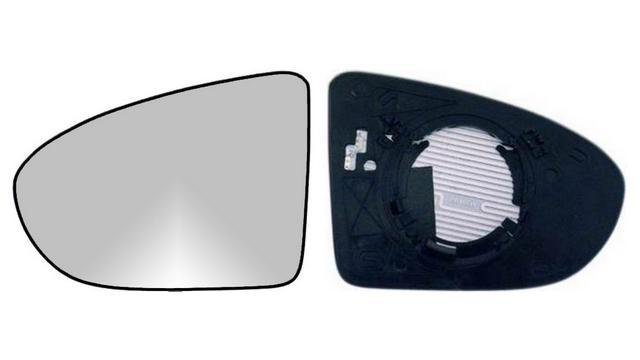 Espejo Cristal + Base Izquierdo Nissan Qashqai año 2006 a 2014|**021