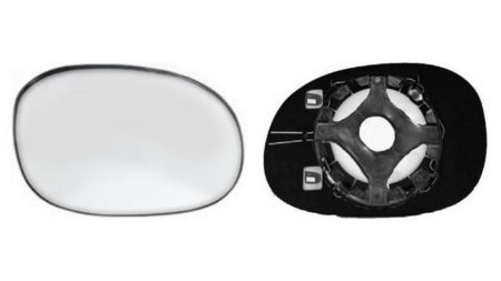 Espejo Cristal + Base Izquierdo Peugeot 206