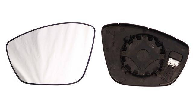 Espejo Cristal + Base Izquierdo Peugeot 208 año 2012 a 2019|***01