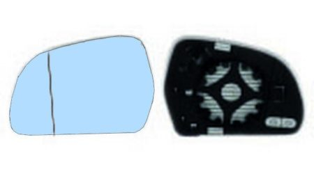 Espejo Cristal + Base Izquierdo Skoda Octavia