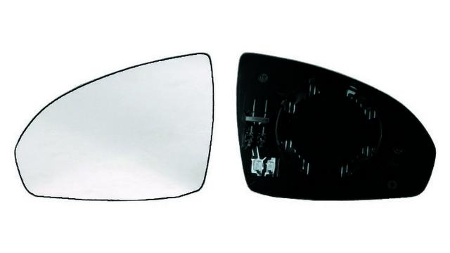 Espejo Cristal + Base Izquierdo Smart ForTwo año 2007 a 2019|***01