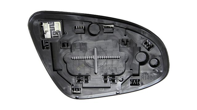 Espejo Cristal + Base Izquierdo Toyota Prius año 2012 a 2019|***01