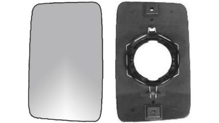 Espejo Cristal + Base Reversible Izdo=Dcho Fiat Ducato