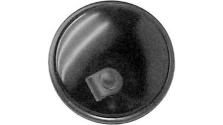 Espejo Cristal Con Carcasa Reversible Izdo=Dcho Universal Circular